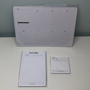 Cloth and Paper C&P Desk Calendar and Message Pad